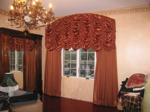 Arched Austrian Valance
