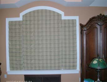 Arched Roman Shades
