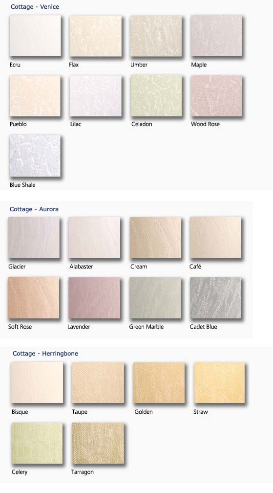 One of the Many Vertical Blinds Color Chart